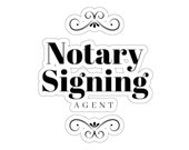 Notary Supplies Notary Gift Notary Public Notary Signing Agent - Notary Public Sticker