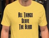 The Dark Tower All Things Serve The Beam Unisex T-Shirt | Stephen King, Ka, Mid-World, The Gunslinger