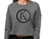 The Dark Tower Ka Logo Crop Sweatshirt | Stephen King, Ka, Mid-World, The Gunslinger