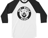 The Dark Tower Shardik Mid-World Bears 3/4 sleeve raglan shirt