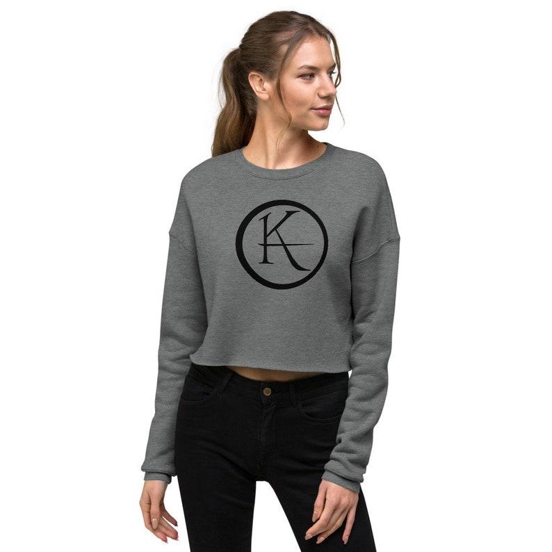 The Dark Tower Ka Logo Crop Sweatshirt image 0