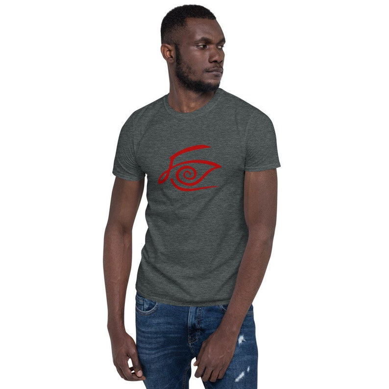 The Dark Tower Crimson King Logo Short-Sleeve Unisex T-Shirt image 0