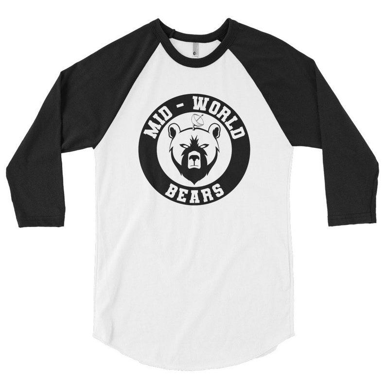 The Dark Tower Shardik Mid-World Bears 3/4 sleeve raglan shirt image 0