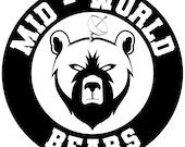 "The Dark Tower Shardik Mid-World Bears 3"" Sticker"