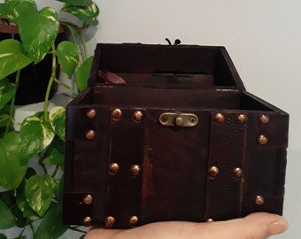 Vintage Inspired Pirates Chest - Treasure Chest - Jewellery Box