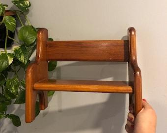 Vintage Doll Bench - Beanie Baby Shelf