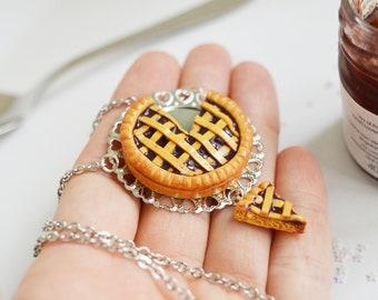 Tart Jam Berries Necklace / Keychain - Tray