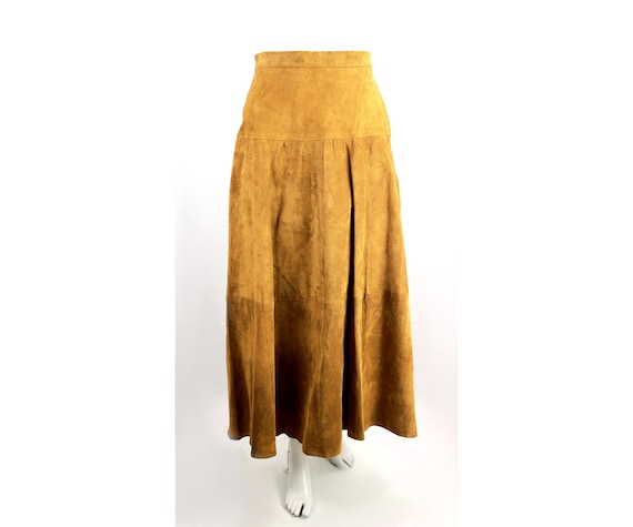 Vintage Leather Witchy Black Leather Full Length Vintage Leather Skirt Suede Skirt Danier Leather Leather Skirt