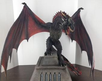 DRAGON STATUES: Drogon. miniature resins, fantasy miniatures, games of throne