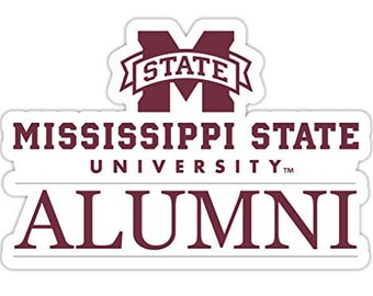 R and R Imports Southern Illinois Salukis 4-Inch Laser Cut Alumni Vinyl Decal Sticker