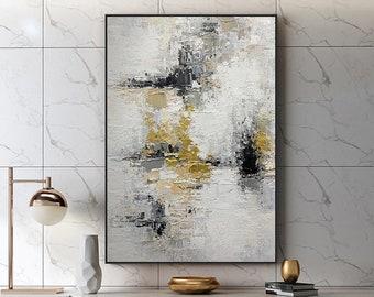 Black Gold Painting Etsy