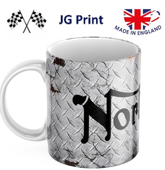 Triumph Mug Motorbike Motorsport Mug Shipped in smash proof box