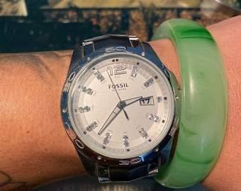 Size matters Fossil watch