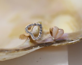 14k Gold Baby Ring Toddler Ring Girls Pink Pearl Ring Freshwater Stretch Stretchy 14k Gold Filled Bead BuyAny3+GetFree