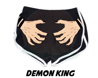 PREORDER - Demon King - Fanart Jujutsu Kaisen Inspired - Booty Shorts
