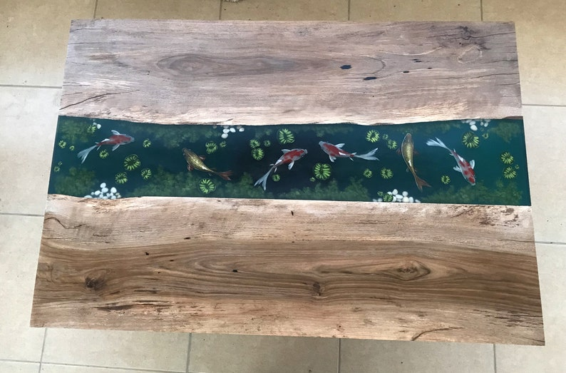 Best Epoxy Resin Fish Table