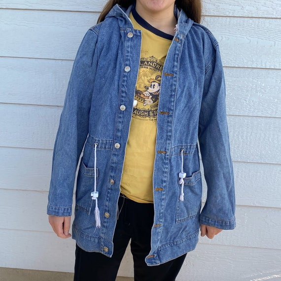 Vintage 80s  Andy Johns Denim Jacket | Size Small