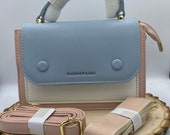 Gorgeous small shoulder bag Two straps one for casual and one for formal event