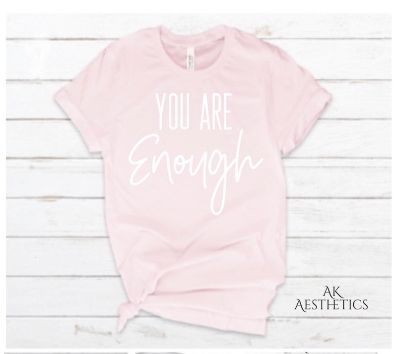 Esthetician Tee beauty tee You are Enough logo tee graphic tee gift Unisex tee