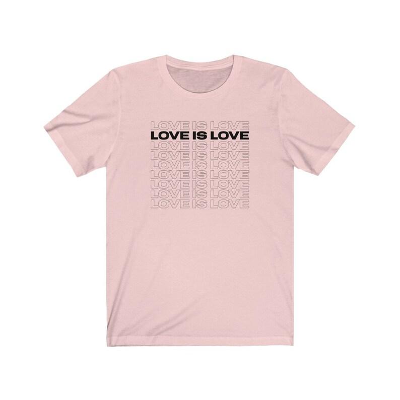 Love Is Love Unisex Short Sleeve Tee image 0