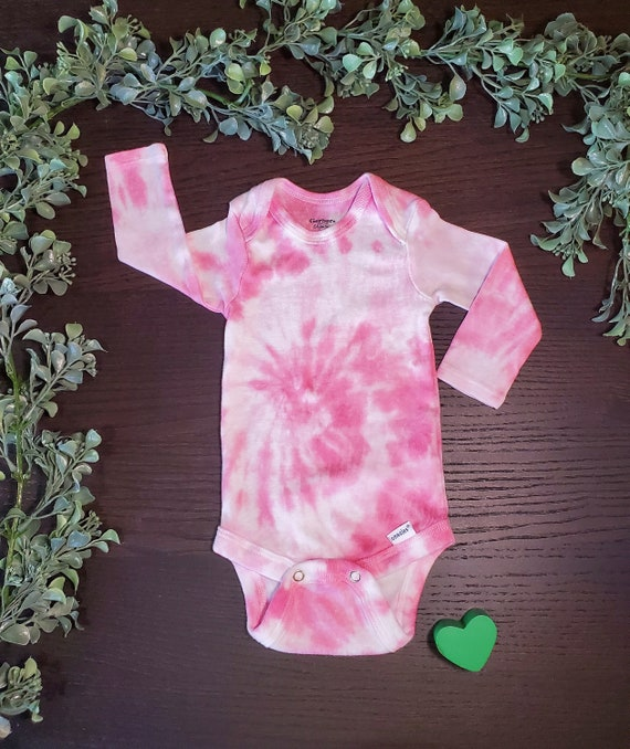 Tie Dye Onesie Baby Girl Boy Clothing Clothes Gift Spiral