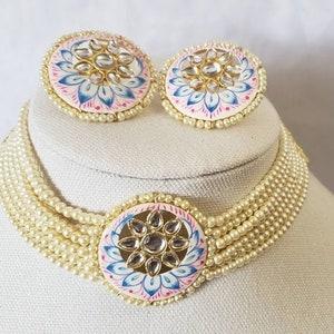 Set of 5 German silver earringsSet of 5 EarringsGift Items For Festive Indian FavorsCombo EarringsAntique German Silver Earrings