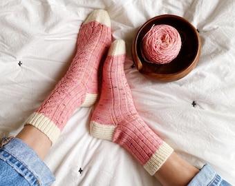 Ode To Barbara Sock Knitting Pattern