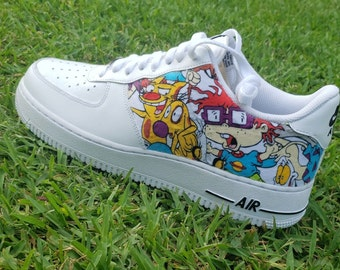 Air Force 1 Custom Cartoon Etsy