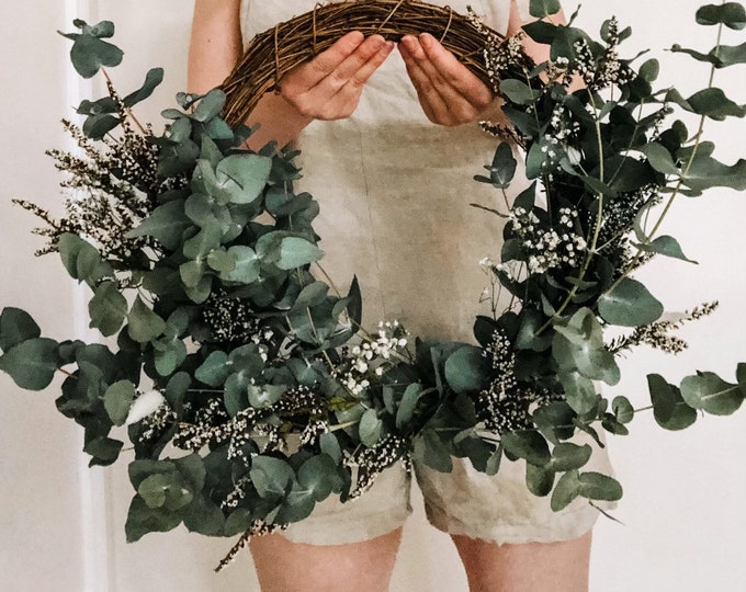 Featured listing image: Eucalyptus Haven Wreath