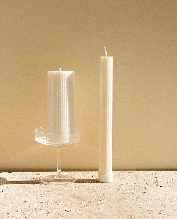 White Column Pillar Candles