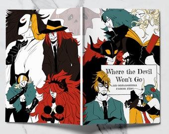 PREORDER - Onigashima Zine - Where The Devil Won't Go - A Fanon OP Anime Zine