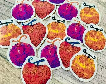 Anime Devil Fruits Sticker Set -  Anime Merch