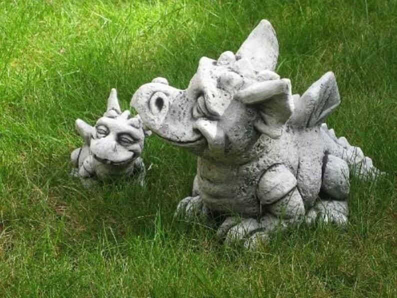 dragon with wings clay dragon pumpkin figurine Cute little dragon statue astrologycal sigh cute dragon miniature dragon
