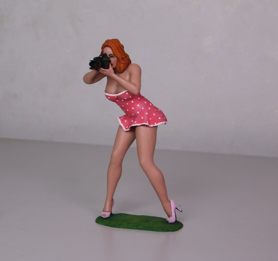 Female GIRL figure scale painted//unpainted Z310C-5508 scale 1//18, 1//24