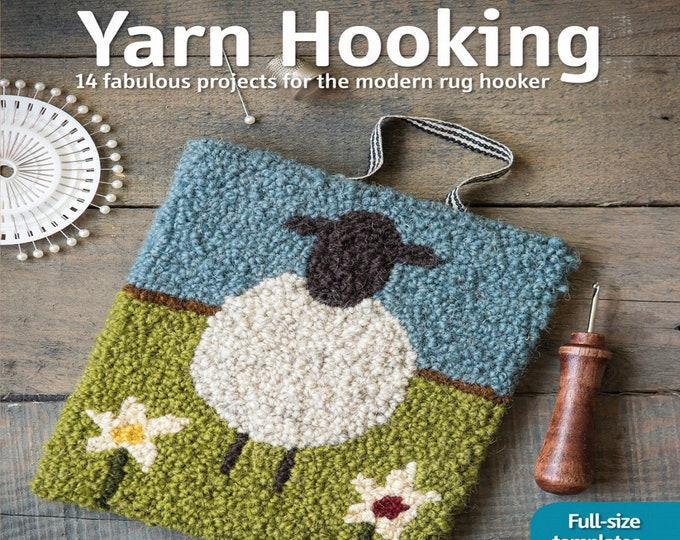 Yarn Hooking - - Book - by Carole Renninson - ( SP1533-2 )