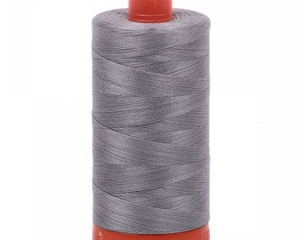 Mako Cotton Thread - Artic Ice - Solid - 50wt - 1422yds - ( A1050-2625 )