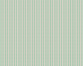 SALE - Prim Collection - Alpine - Ticking - Quilting Cotton Fabric - Lori Holt of Bee in My Bonnet for Riley Blake Designs -( C9707-ALPINE )