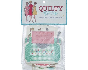 Gift Tags - Quilty - by Lori Holt of Bee in My Bonnet for Riley Blake Designs - ( STS-14834 )