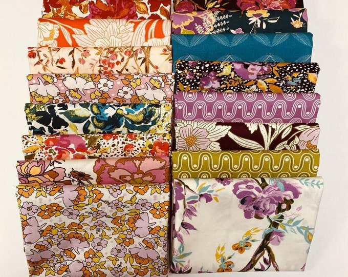 365 Fifth Ave - Fabric Wonders - Fat Quarter Bundle - 16 Fabrics - Quilting Fabric - by Bari J for Art Gallery Designs - ( FQW-FAV )