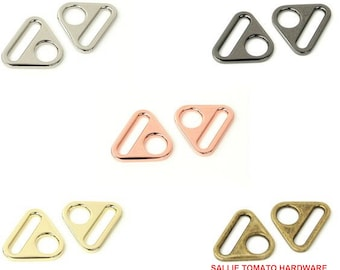 "Triangle Ring - 1"" inch - 25mm - Handbag - Purse - Multiple Colors - by Sallie Tomato - ( STS185 )"