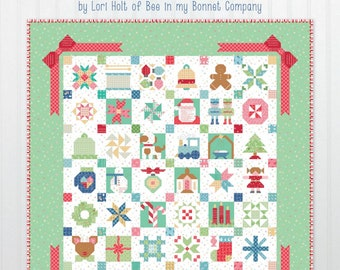 Vintage Christmas Book - Its Sew Emma - by Lori Holt of Bee in My Bonnet for Riley Blake Designs - ( ISE-925 )