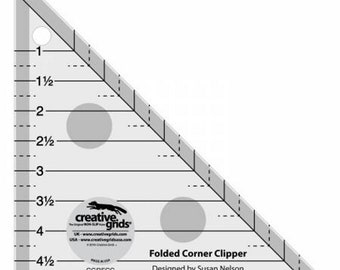 Creative Grids - Folded Corner Clipper Tool - Triangle - ( CGRFCC )