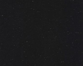 Speckled - Black - Essex - Yarn Dye - Linen Cotton - by Robert Kaufman - ( E134-1019 )