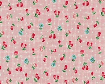Tulip Garden Collection - Pink - Tulips - Floral - by Atsuko Matsuyama - ( AMTULIP-PINK )