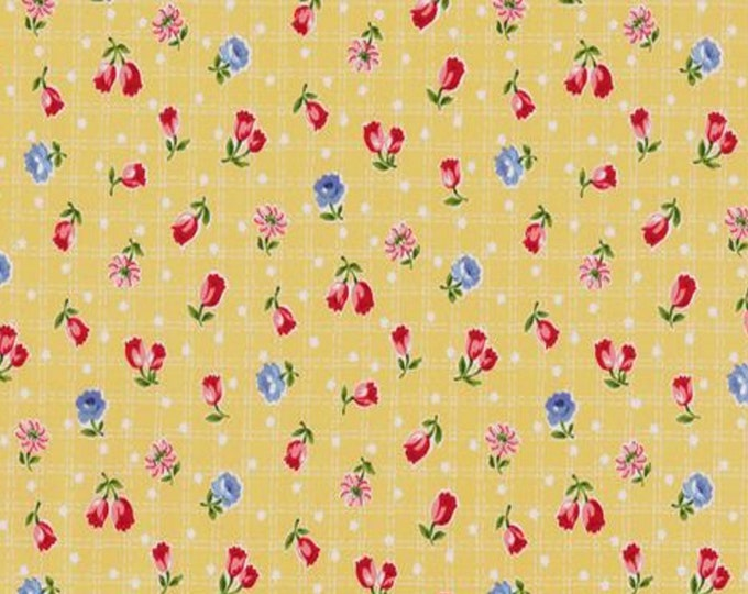 Yellow - Tulips - Floral - Tulip Garden Collection - by Atsuko Matsuyama - ( AMTULIP-YELLOW )
