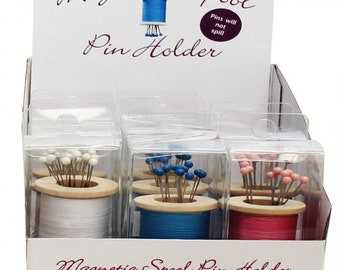 Magnetic Spool Pin Holders - ** Multiple Color Choices **  - ( 54113A )