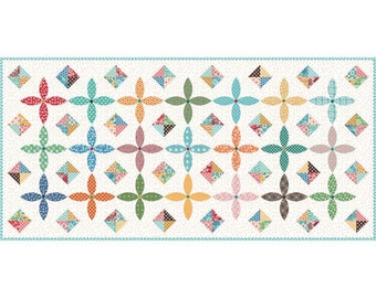 SALE - Flea Market - Table Runner - Boxed Kit - by Lori Holt of Bee in My Bonnet for Riley Blake Designs - ( KTB-18050 )
