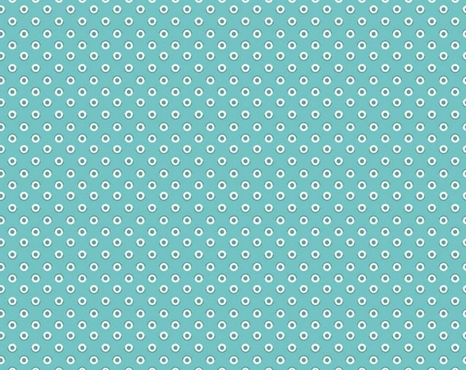 Cottage - Polka Dot - Flea Market Collection - Quilting Fabric - Lori Holt of Bee in My Bonnet for Riley Blake Designs - ( C10215-COTTAGE )