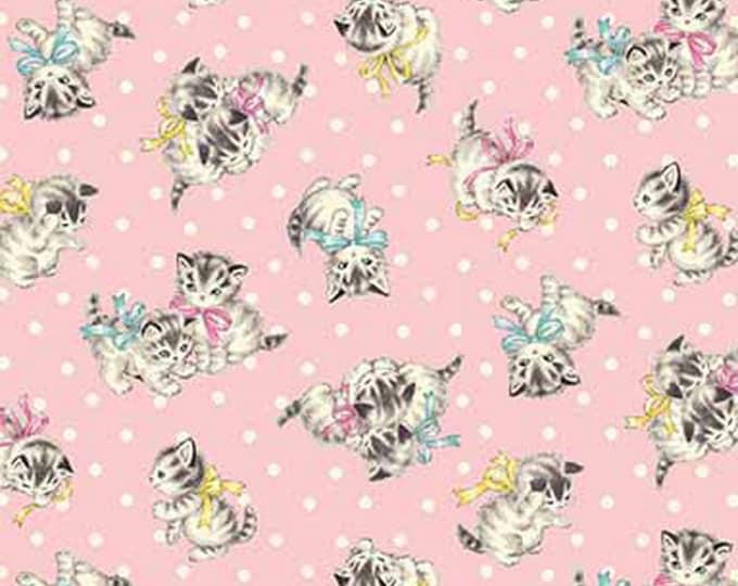 Dear Little World: Little Kittens - Dots - Quilt Gate - ( QUGLW2010-13B )