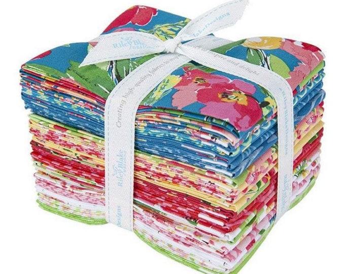 Glohaven - Fat Quarter Bundle - 21 Fabrics - Quilting Fabric - by Lila Tueller for Riley Blake Designs - ( FQ-9830-21 )